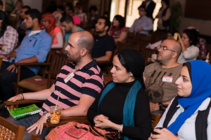 Part of the attendees at the OCCEgypt meetup
