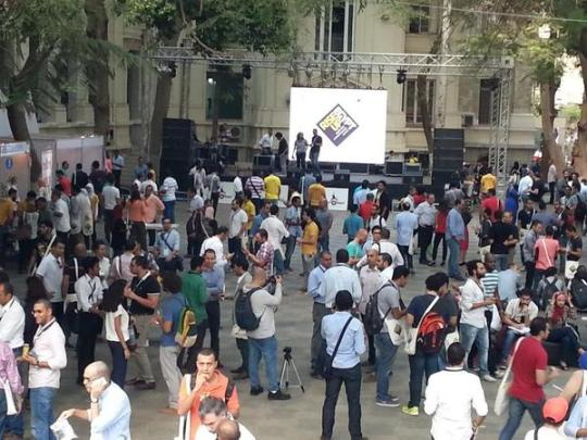 Vibrant entrepreneurial community at RiseUp14