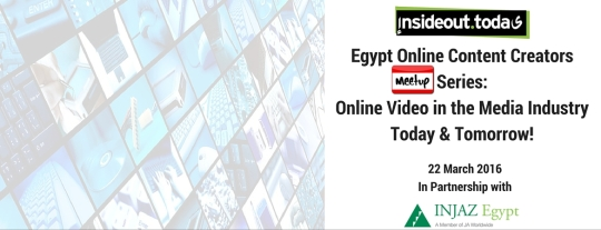 Egypt Online Content Creators series- March 2016