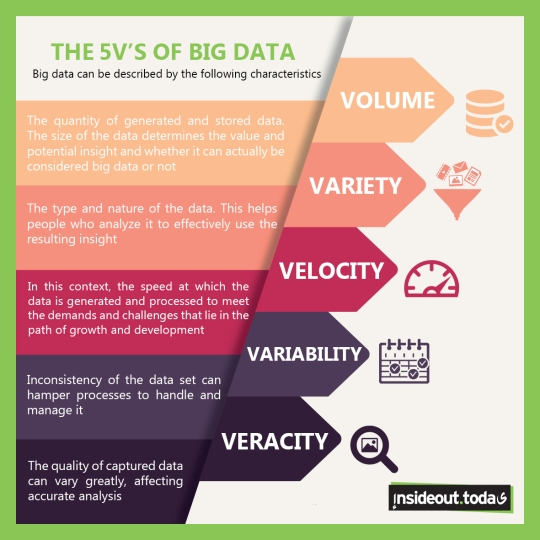 The 5 V s of Big Data